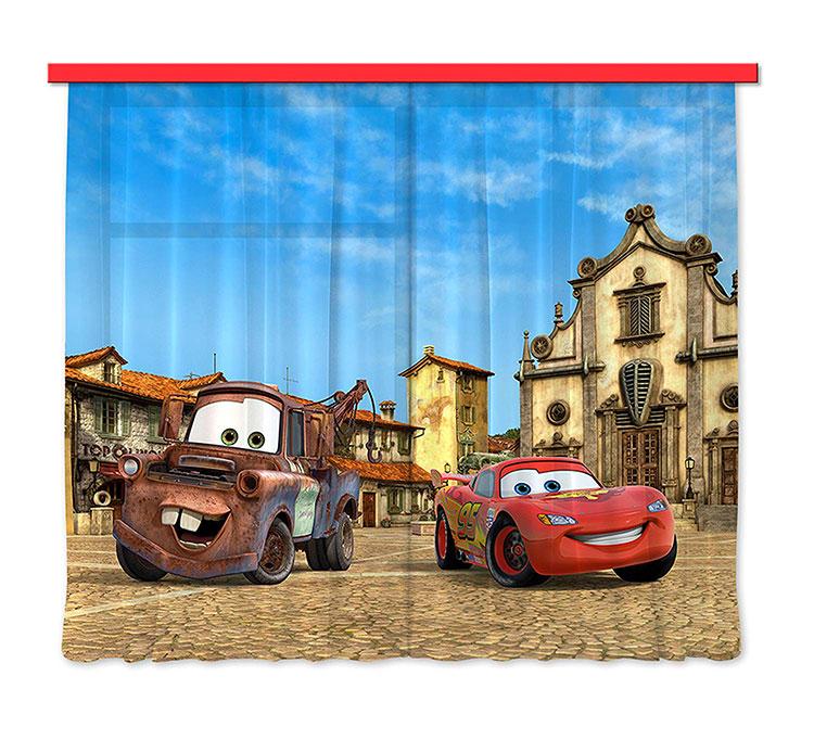 Modello di tenda per cameretta Disney di Cars n.02