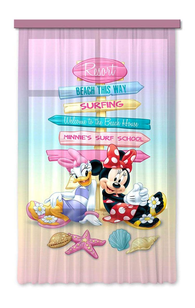Modello di tenda per cameretta Disney di Minnie n.01