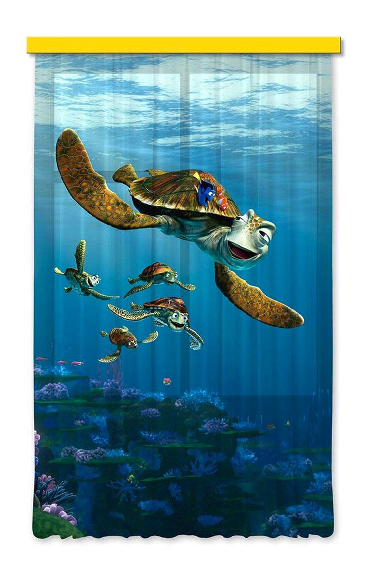 Modello di tenda per cameretta Disney di Nemo n.02
