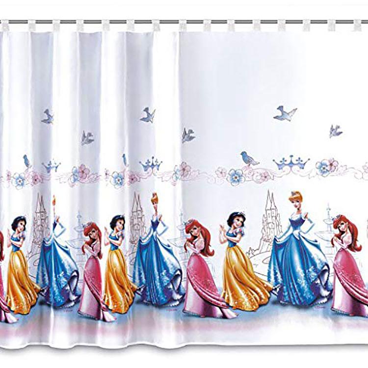 Modello di tenda per cameretta delle principesse Disney n.05