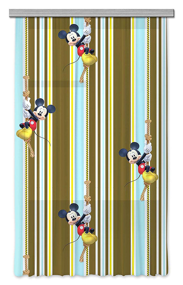 Modello di tenda per cameretta Disney di Topolino n.04