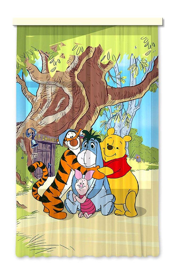 Modello di tenda per cameretta Disney di Winnie The Pooh n.01