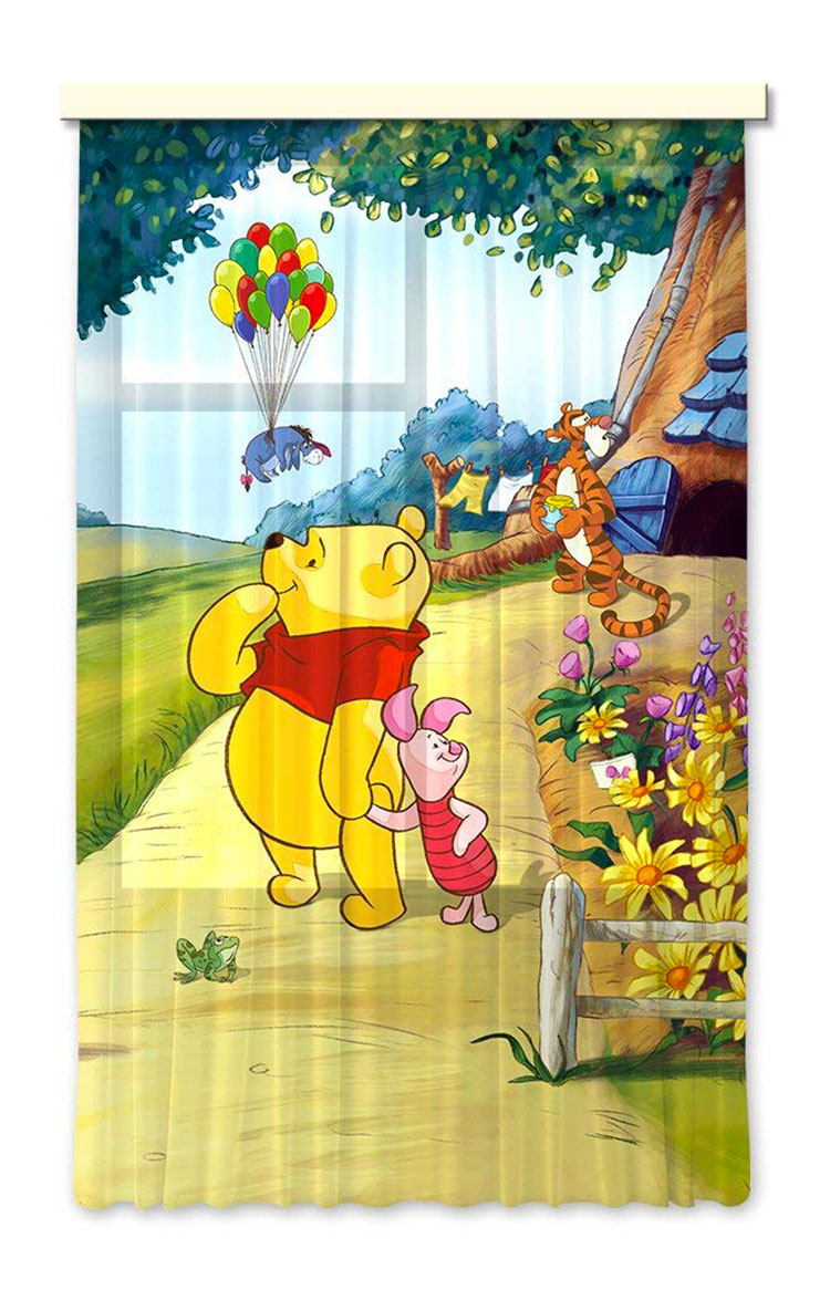 Modello di tenda per cameretta Disney di Winnie The Pooh n.03