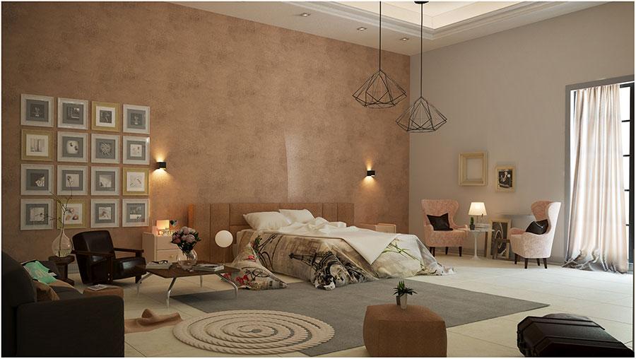 Idee per arredare una camera da letto vintage n.01