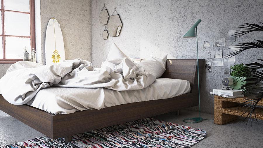 Idee per arredare una camera da letto vintage n.05
