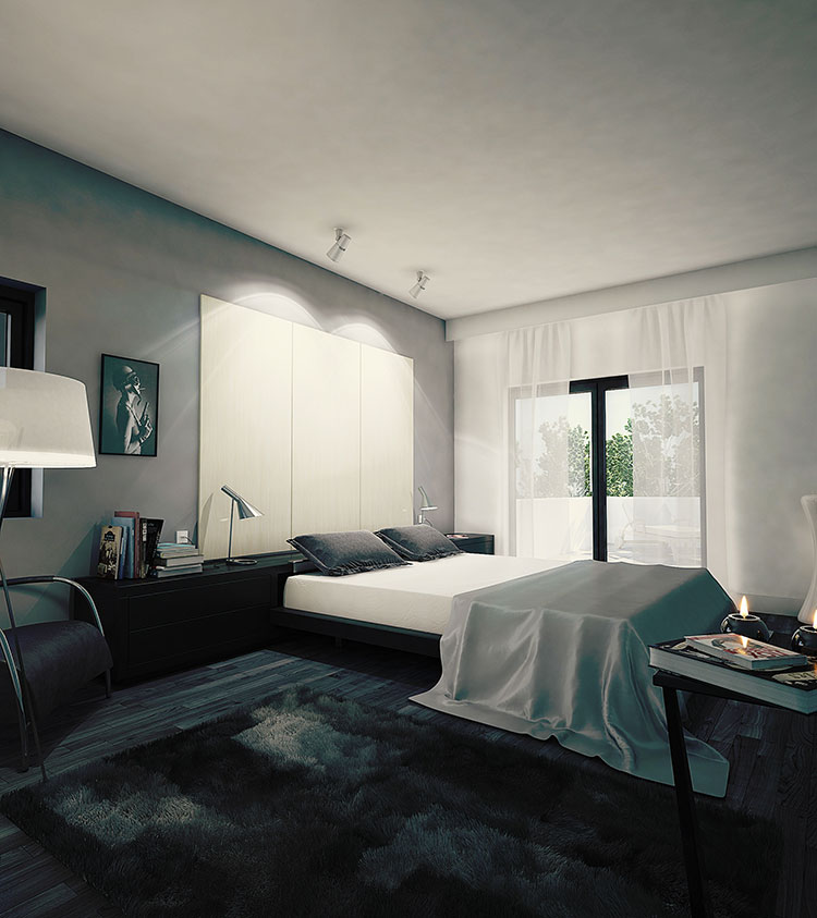 Idee per arredare una camera da letto vintage n.06
