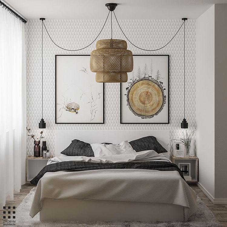 Idee per arredare una camera da letto vintage n.14