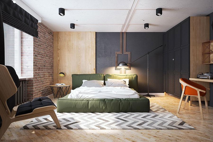 Idee per arredare una camera da letto vintage n.16