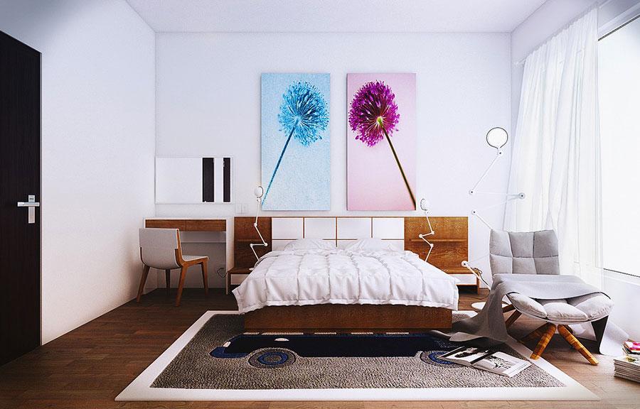 Idee per arredare una camera da letto vintage n.18