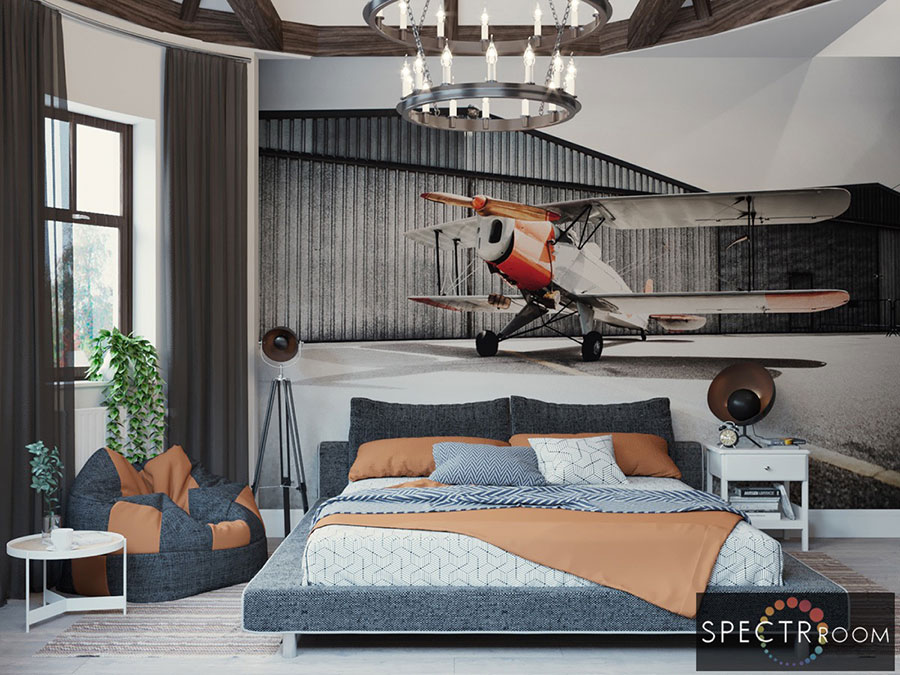 Idee per arredare la camera da letto in maniera originale n.06