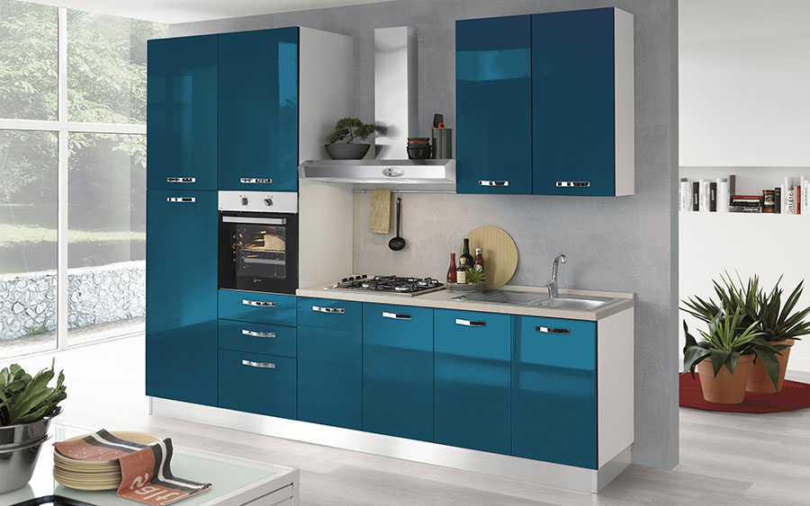 Cucine di 3 Metri Lineari in Diversi Stili | MondoDesign.it