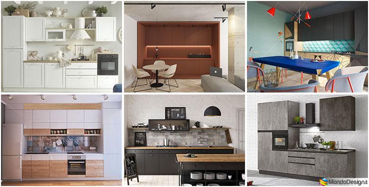 Cucine moderne di 3 metri lineari
