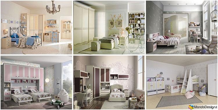 Camerette vintage 20 bellissimi modelli di varie marche for Marche arredamento design