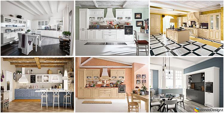 Idee di colori per pareti per cucine classiche
