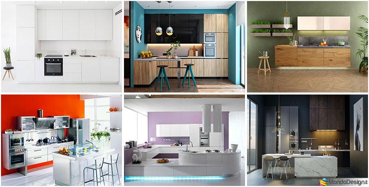 Idee per colori di pareti di cucine moderne