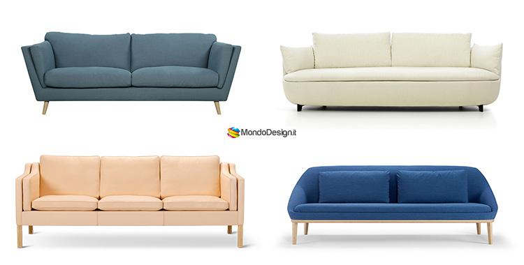 30 divani in stile scandivano di varie marche for Marche arredamento design