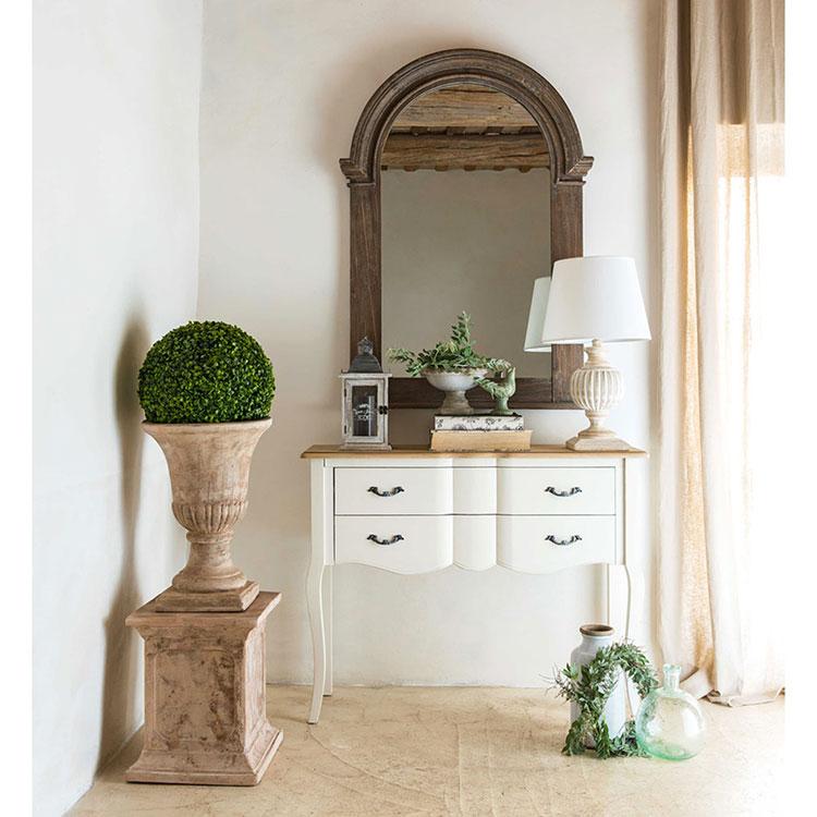 Idee mobili per un soggiorno in stile rustico n.01