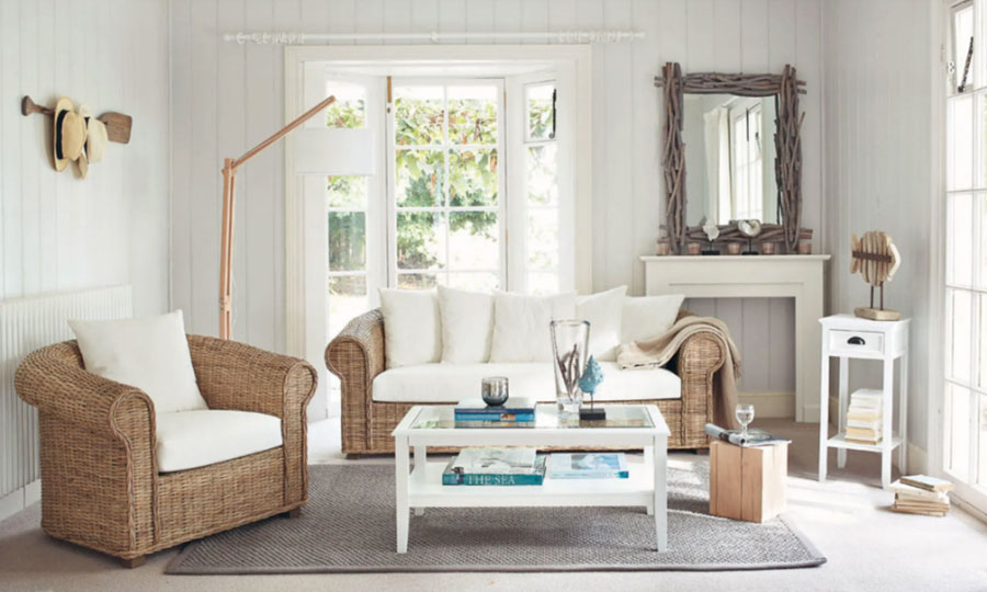 Idee mobili per un soggiorno in stile rustico n.03