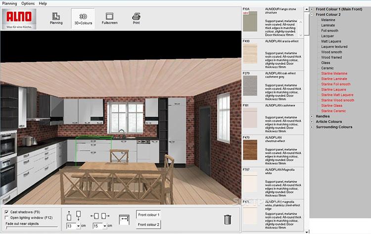 Alno kitchen planner