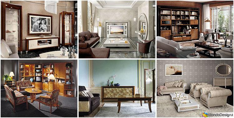 Soggiorno classico 45 idee di arredamento delle migliori for Arredamento d interni soggiorno