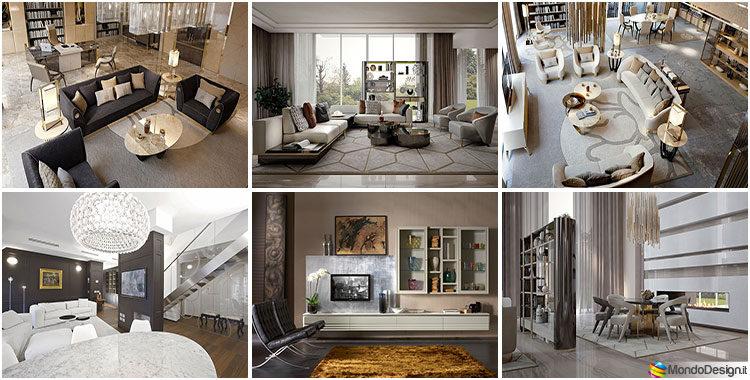 Arredamento soggiorno classico moderno 23 idee delle for Arredamento moderno elegante