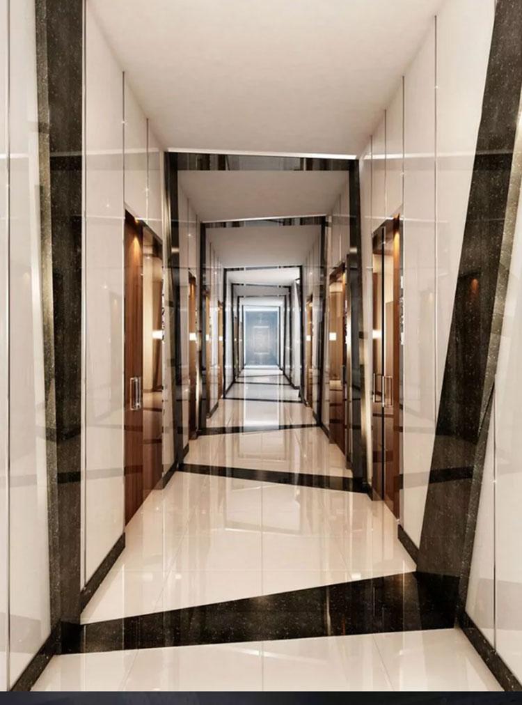 Come arredare un corridoio moderno 30 idee a cui for Arredare corridoio