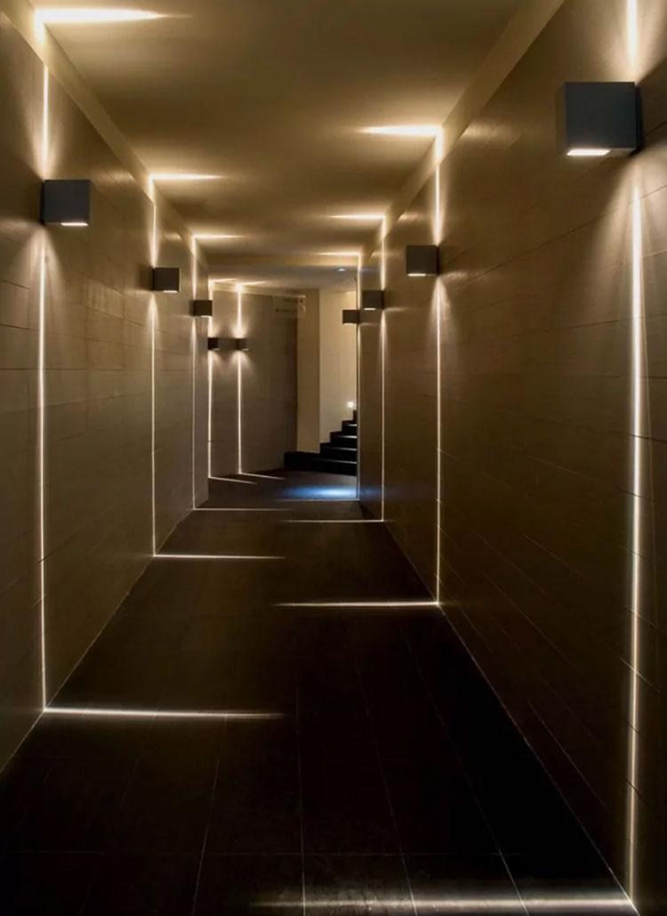 Idee per arredare un corridoio moderno n.05