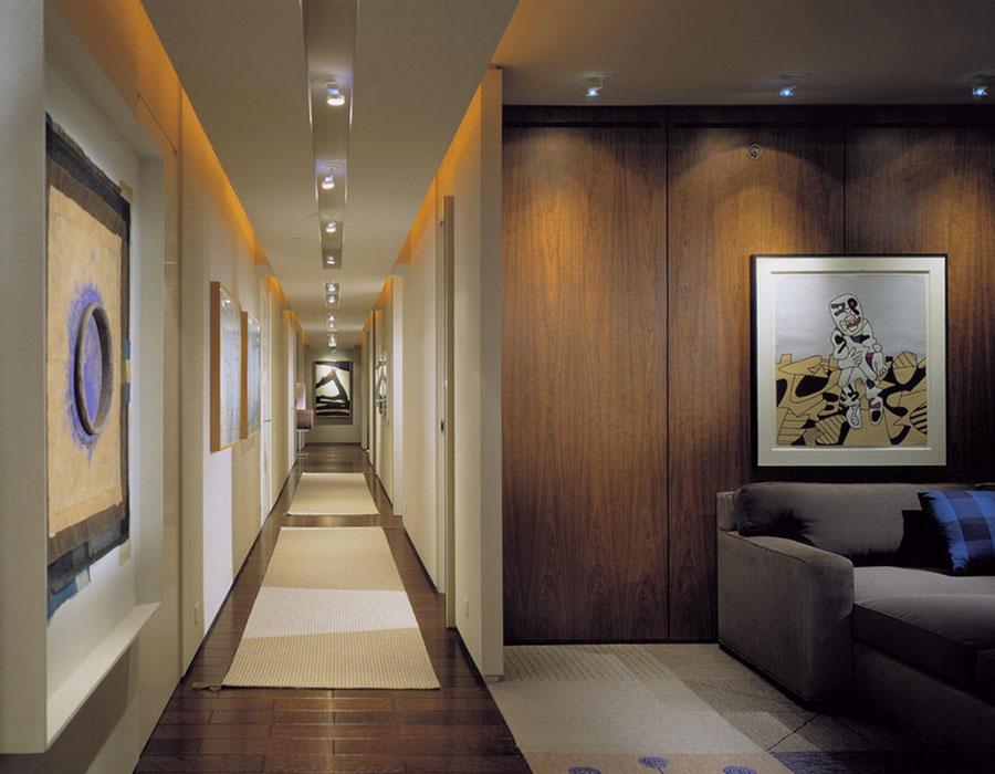 Idee per arredare un corridoio moderno n.07