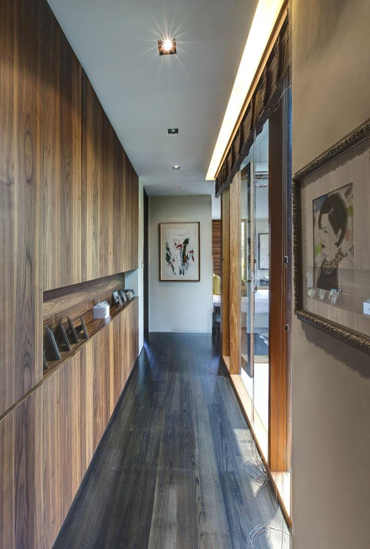 Idee per arredare un corridoio moderno n.09