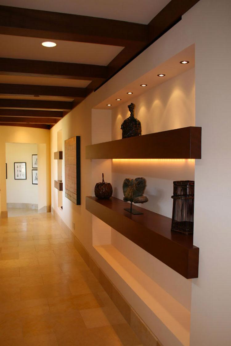Idee per arredare un corridoio moderno n.19