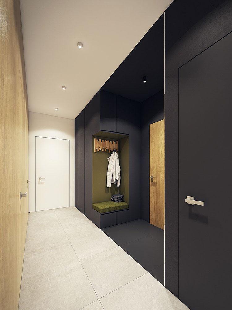Idee per arredare un corridoio moderno n.23