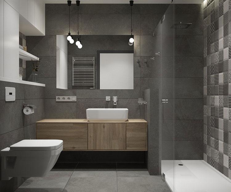 Bagno Grigio E Bianco Ecco 40 Idee Di Arredamento