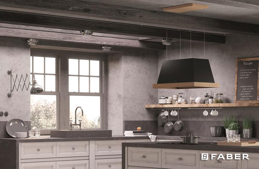 Idee di arredamento per una cucina rustica n.04