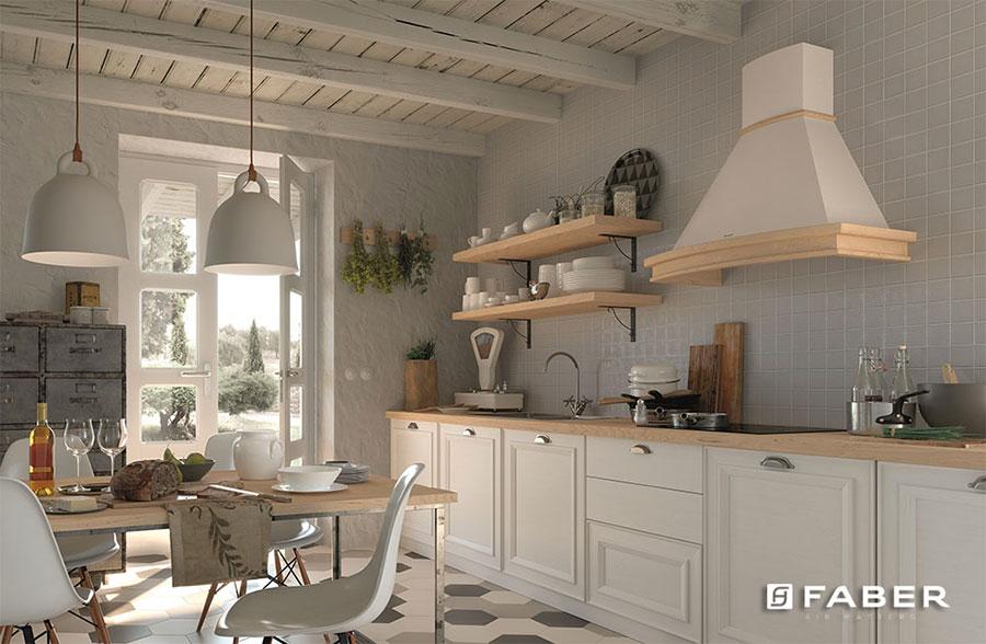 Idee di arredamento per una cucina rustica n.05