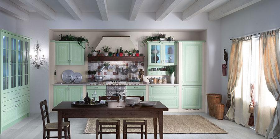 Idee di arredamento per una cucina rustica n.20