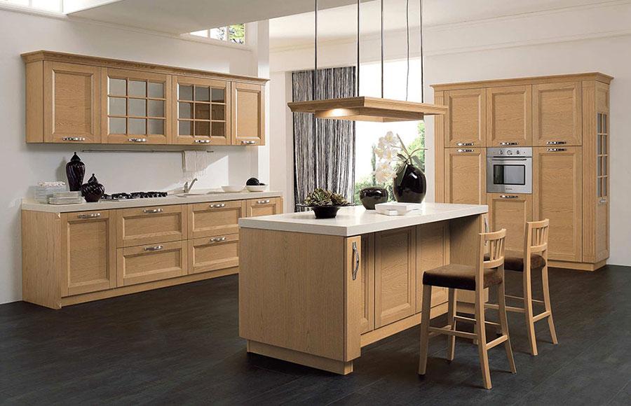 Idee di arredamento per una cucina rustica n.24