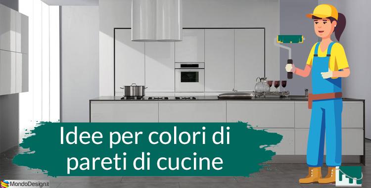 colori pareti cucina 2018