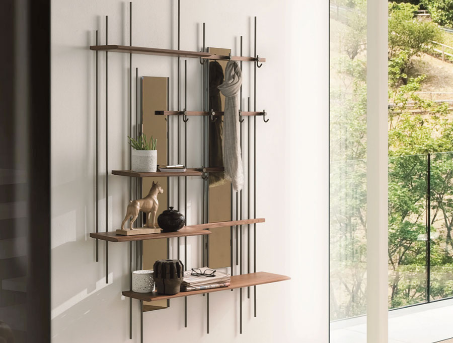 Idee per mobili in un corridoio stretto n.02