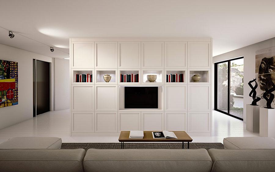 Arredamento per soggiorno classico moderno L'Origine 01