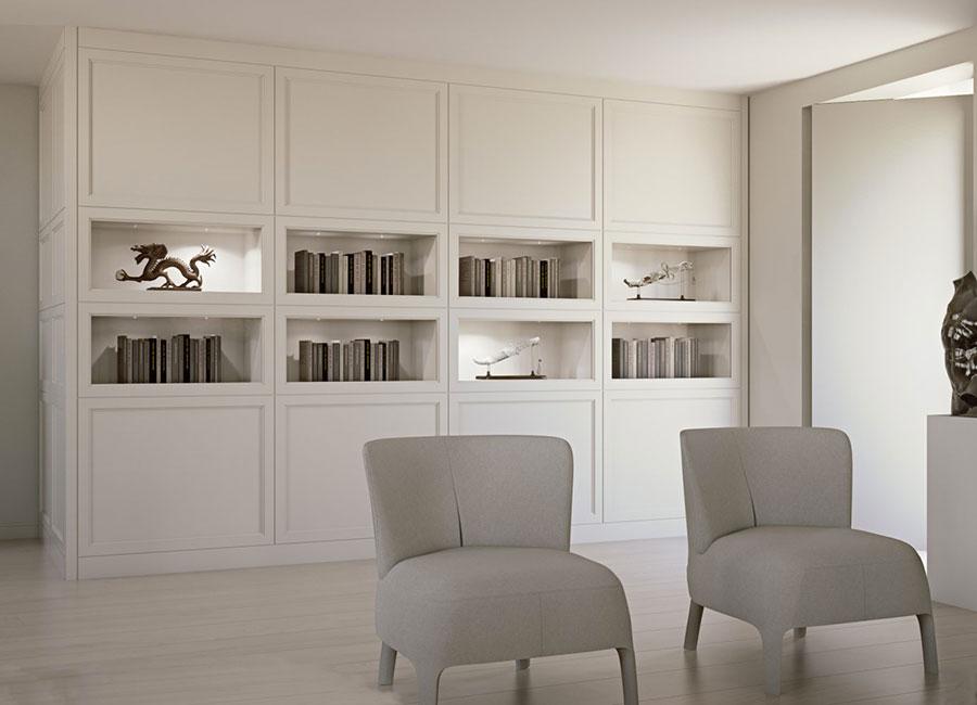 Arredamento per soggiorno classico moderno L'Origine 02