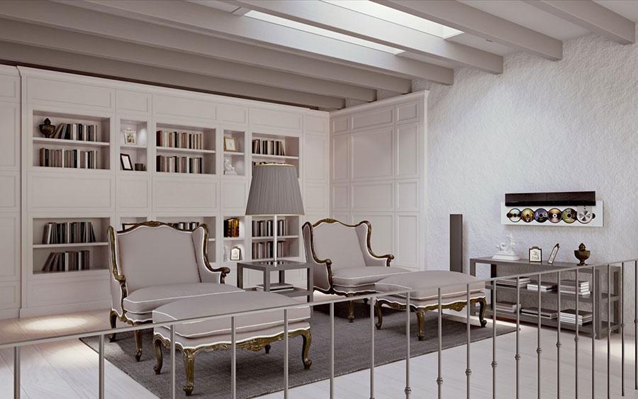 Arredamento per soggiorno classico moderno L'Origine 03