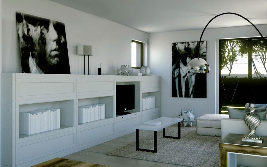 Arredamento per soggiorno classico moderno L'Origine 05