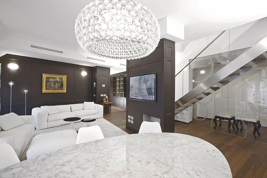 Arredamento per soggiorno classico moderno L'Origine 07