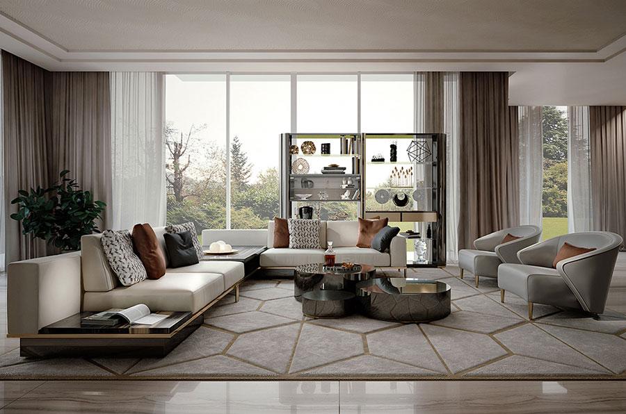 Arredamento soggiorno classico moderno 23 idee delle for Arredamento classico moderno soggiorno