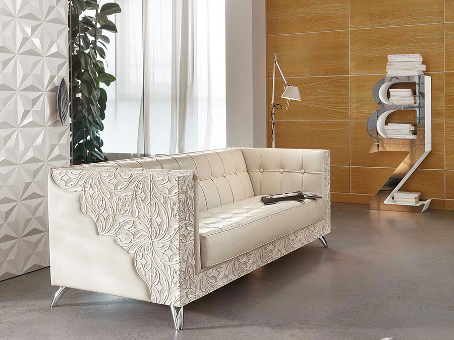 Arredamento per soggiorno classico moderno Bizzotto 06