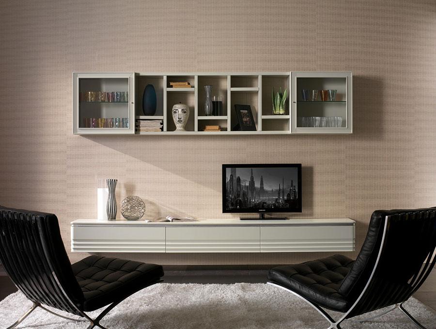 Arredamento per soggiorno classico moderno Cantiero 03