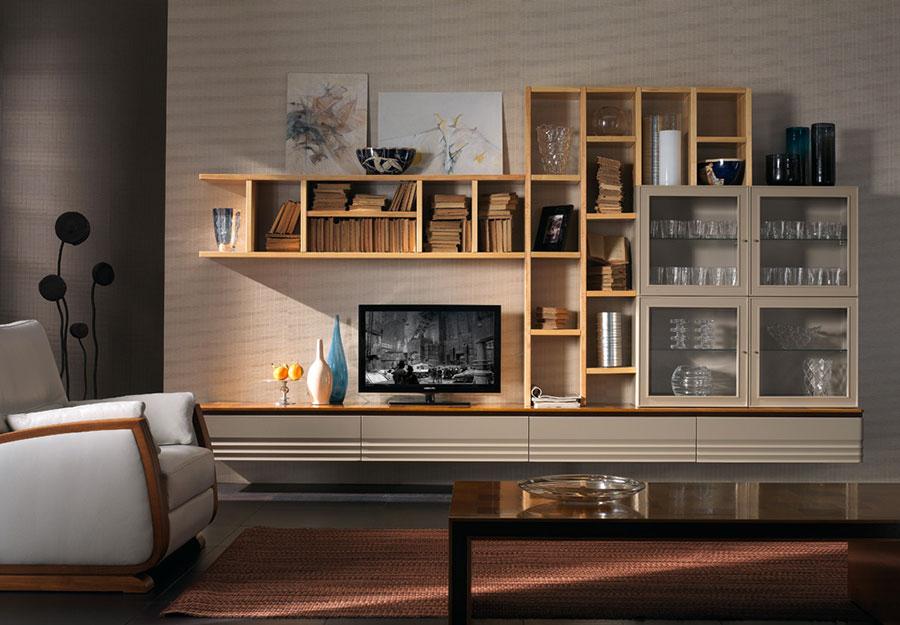 Arredamento per soggiorno classico moderno Cantiero 04