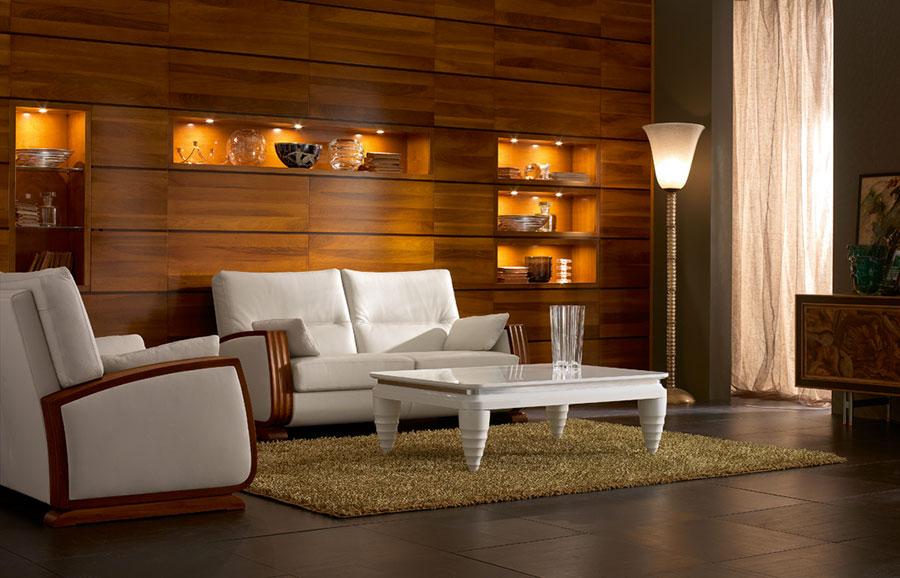 Arredamento per soggiorno classico moderno Cantiero 05