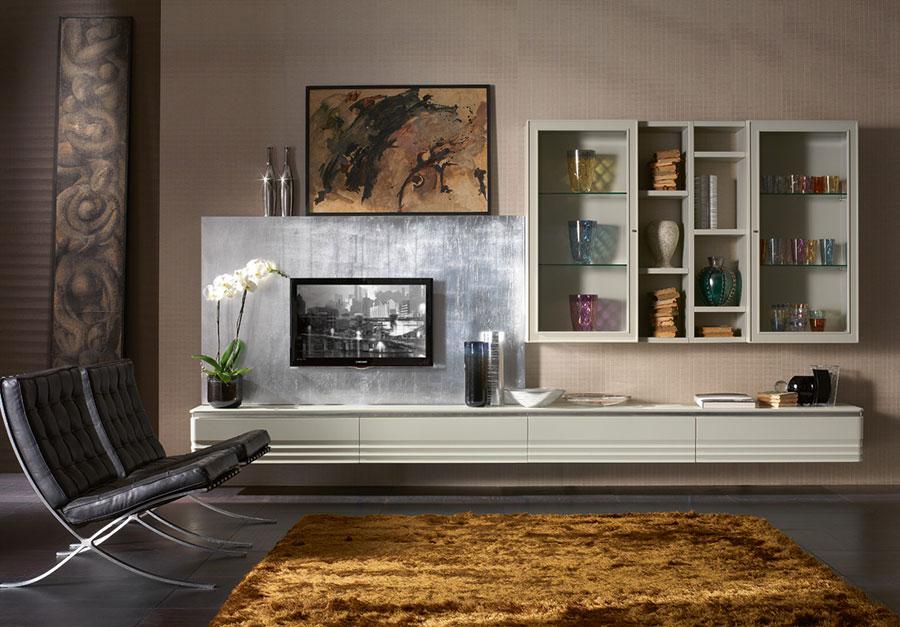 Arredamento per soggiorno classico moderno Cantiero 06