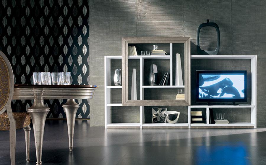 Arredamento per soggiorno classico moderno Cantiero 07